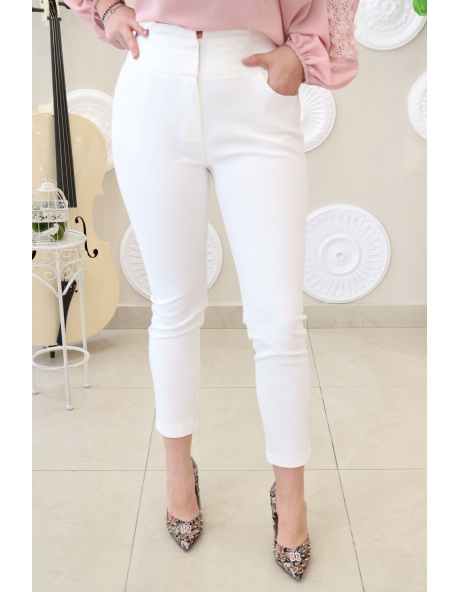 Pantalon vestir Toscana blanco