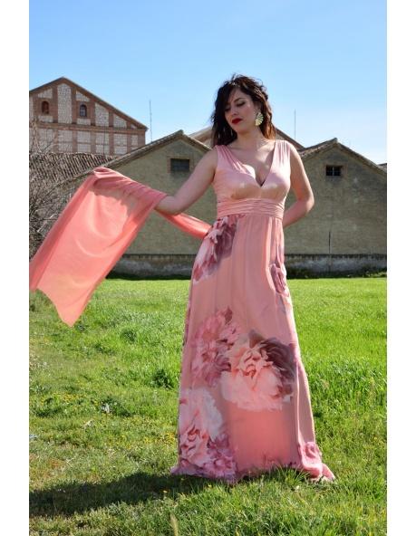 Vestido Largo CRP Brilli Foul