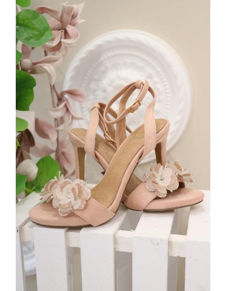 Zapato Rosalía Rosa Oro