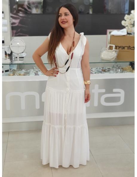 Vestido Oceano Blanco