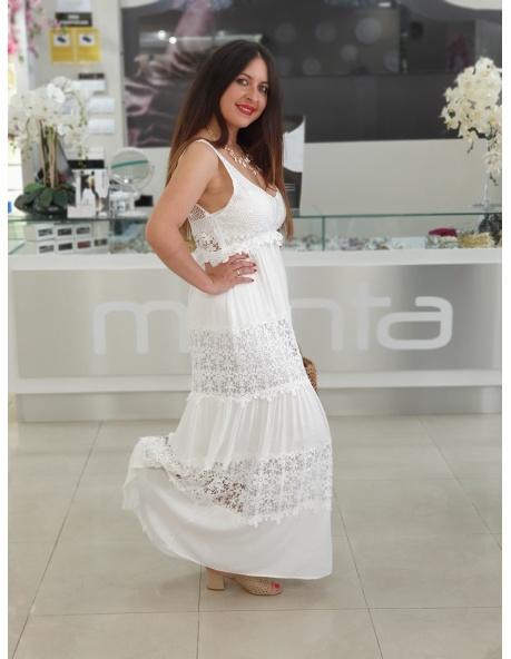 Vestido Blanco Miranda
