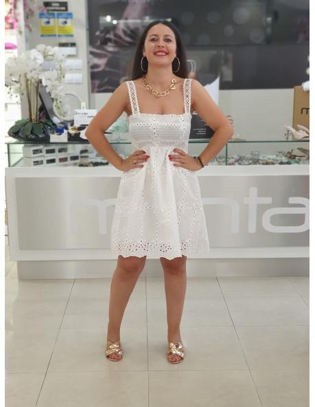 Vestido Sangaro Blanco