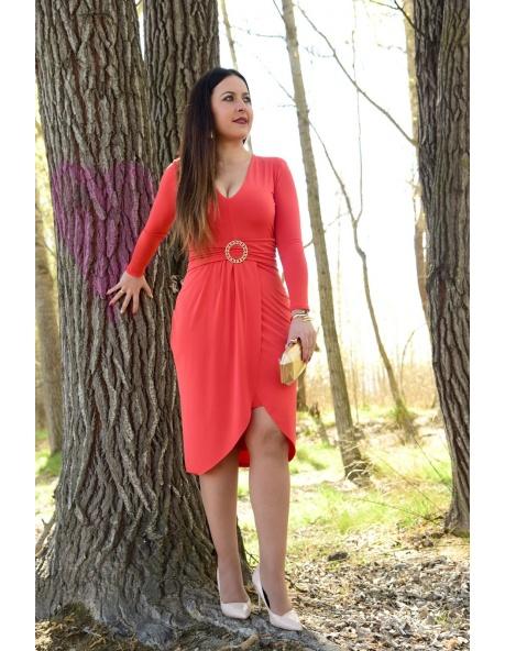 Vestido Laredo heby rojo