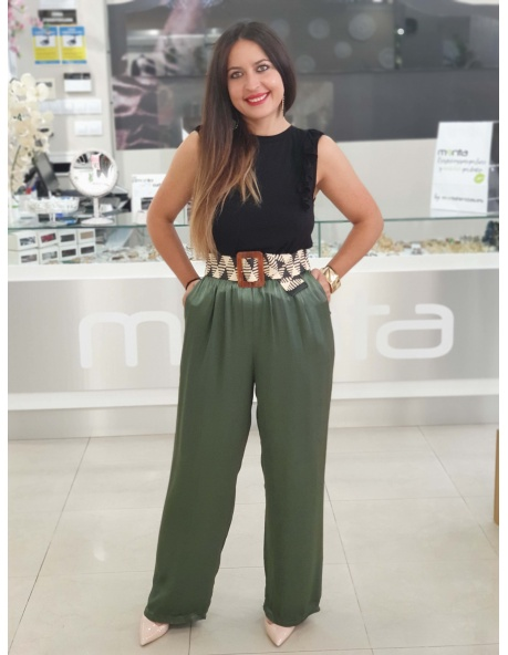 Pantalón Marga Verde