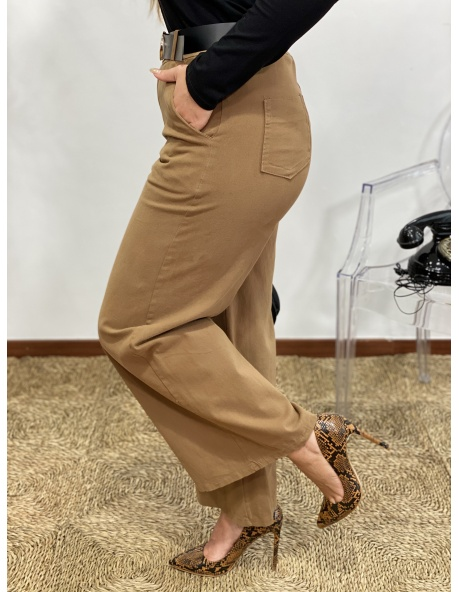Pantalón Celia Camel