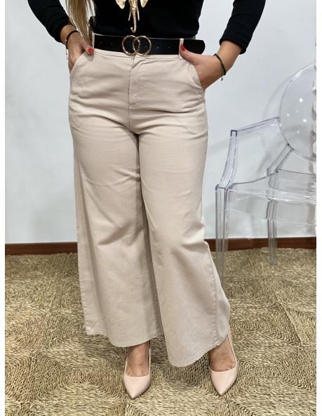 Pantalón Celia Beige