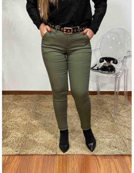 Pantalon Pastel Verde