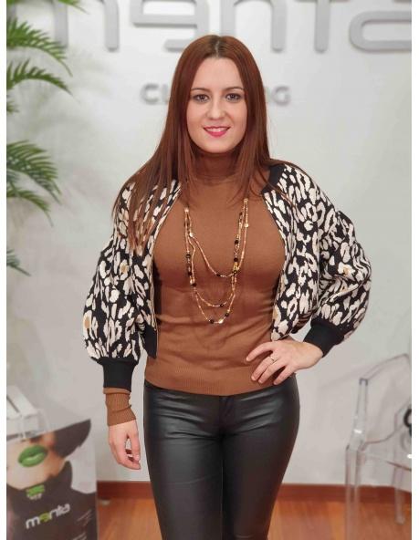Chaqueta leopardo Luisa