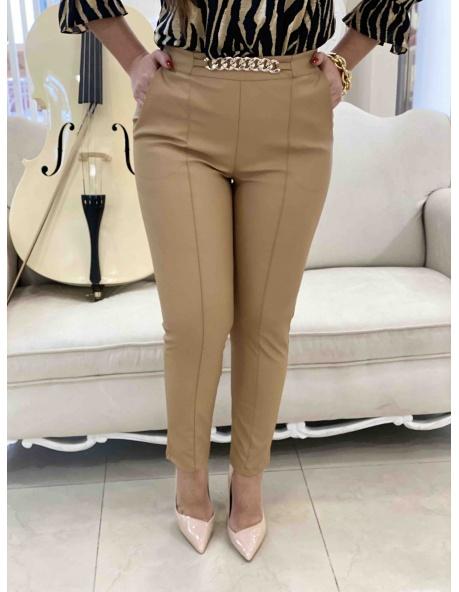 Pantalon Bego Camel