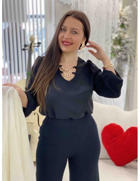 Blusa Camelia Negro