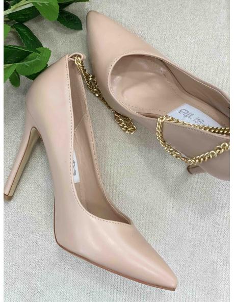 Zapato Salon Marquesa beig