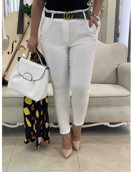 Pantalon Macarena blanco
