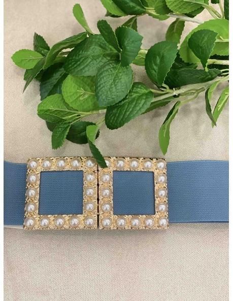 Cinturon Corona azul