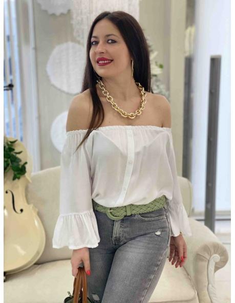 Camisa Anchoa blanco