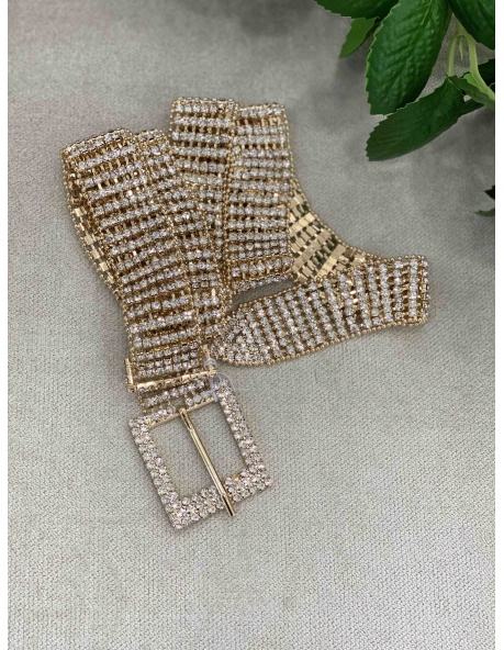 Cinturon Diamante Oro