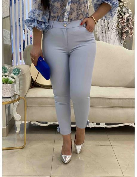 Pantalon Claudia Celeste