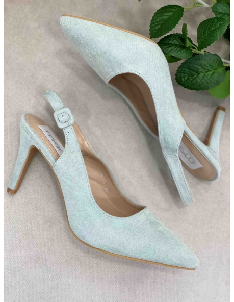 Zapato salon Denver verde