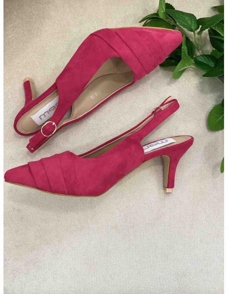 Zapato salon Viena fucsia