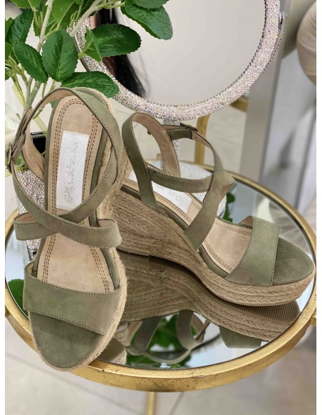 Zapato Salon Italy kaki