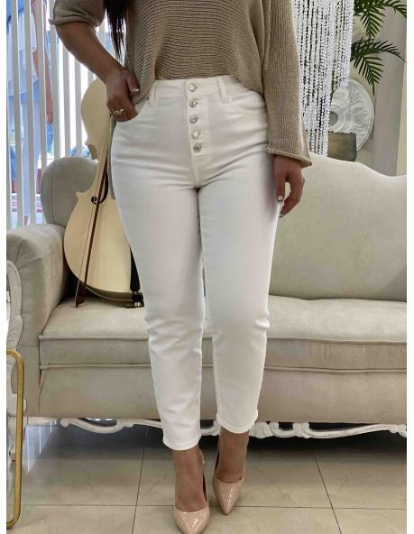 Pantalon Marta blanco