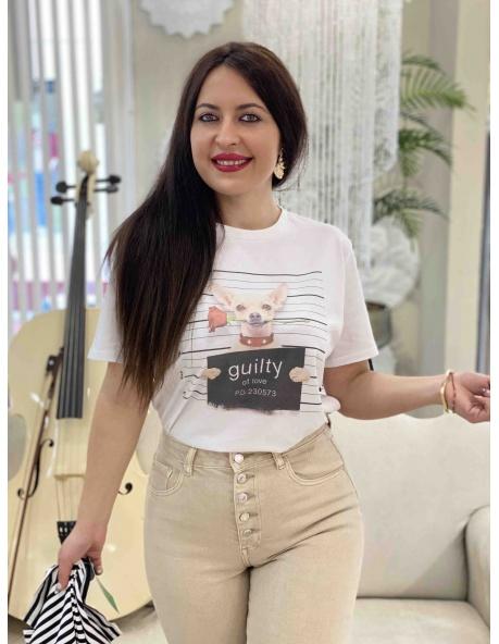 Camiseta Geranio