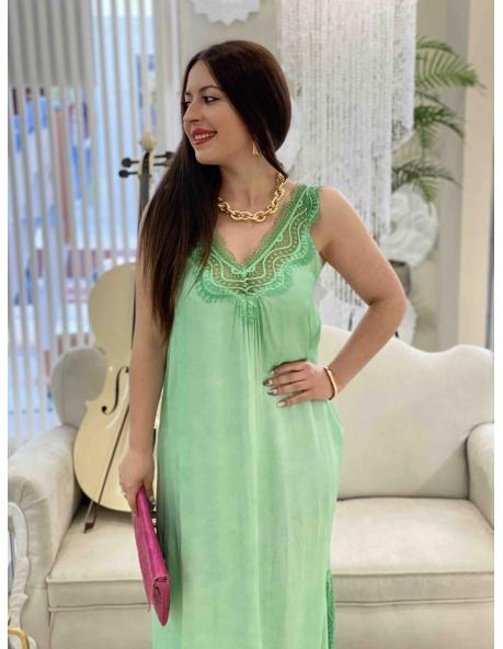Vestido Alcubillas verde