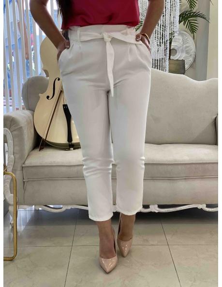 Pantalon Tojar blanco