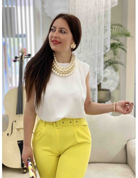 Blusa blanca Laurita