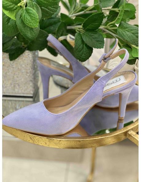 Zapato salon Denver morado