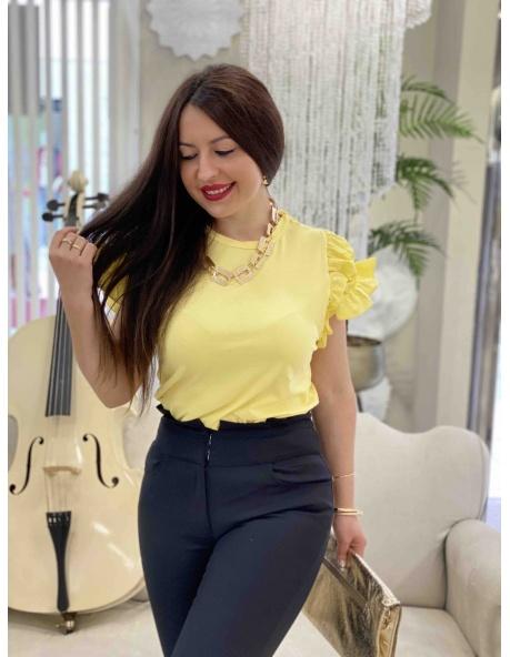 Camiseta livorno amarillo