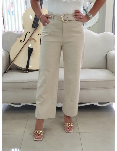 Pantalon Acapulco beig