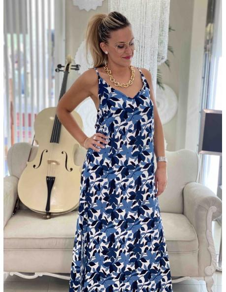 Vestido Prado azul