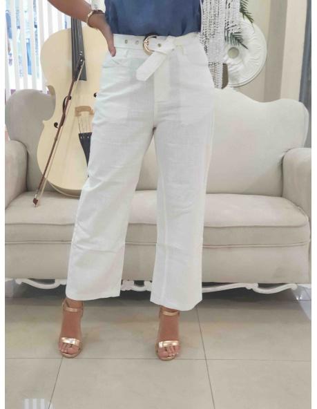 Pantalon Acapulco blanco