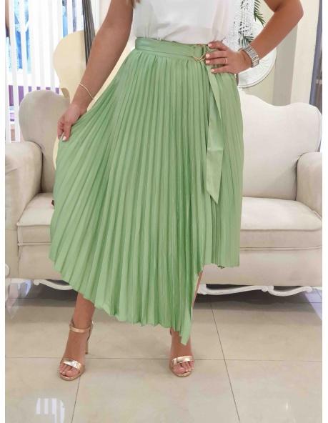 Falda Cela verde