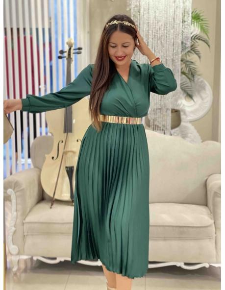 Vestido Viena verde