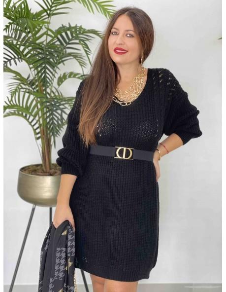 Vestido Afrodita Negro