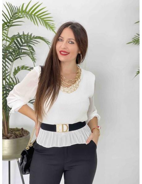 Camiseta Adela Blanca