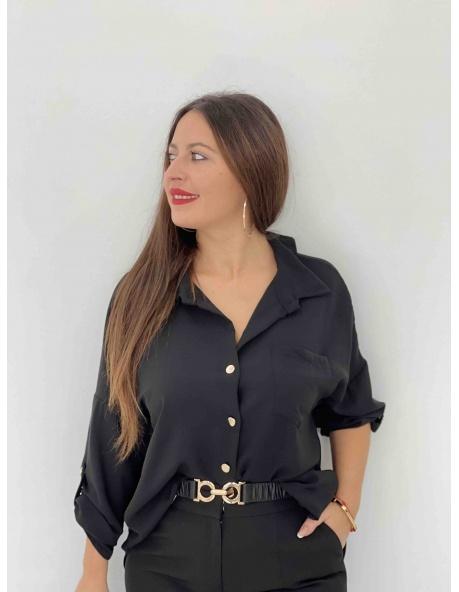 Camisa Lucia negra
