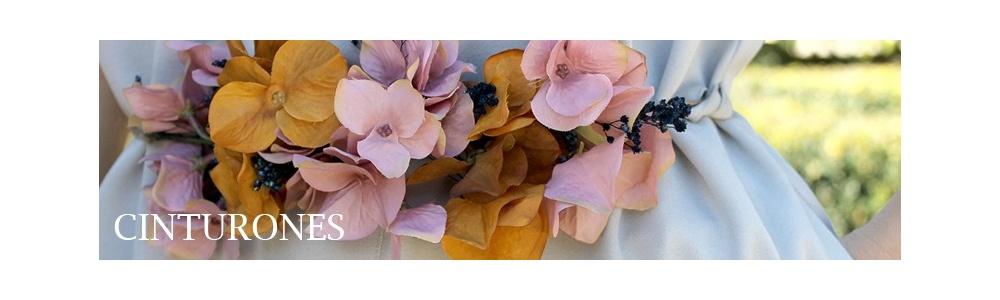 Cinturones para Mujer - Cinturones de Flores, para vestidos de Fiesta - Menta Tiendas